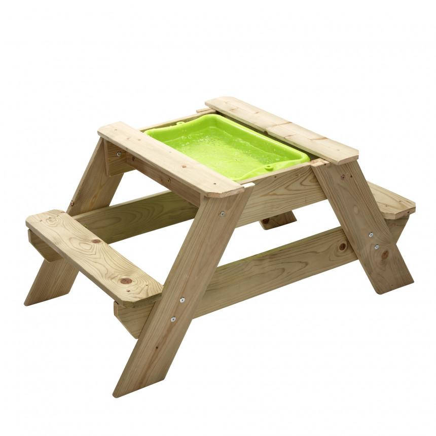 TP Picknick Tafel zandbak voor 2 JOY water