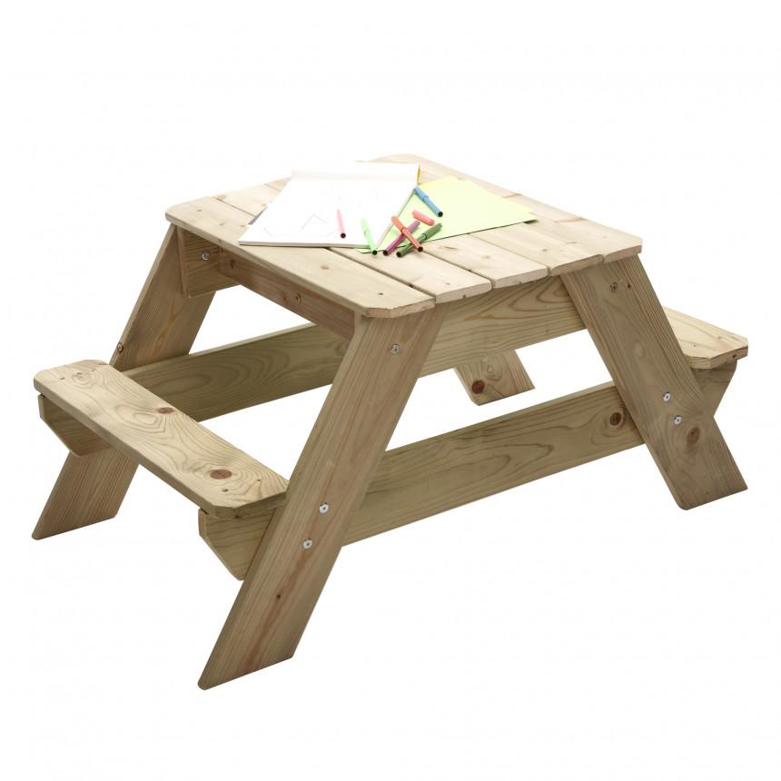 TP Picknick Tafel zandbak voor 2 JOY tafelblad
