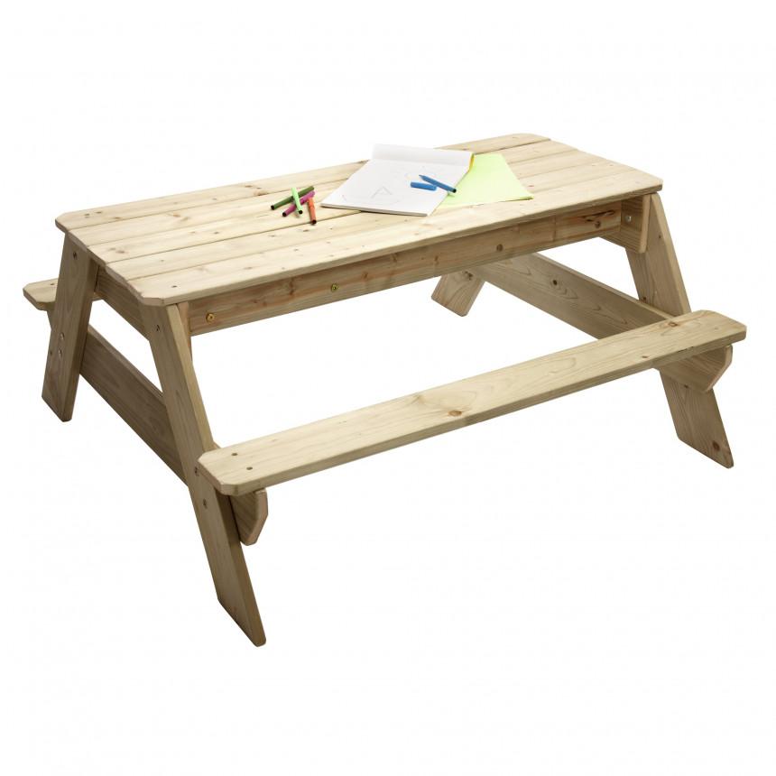 TP Picknick Tafel zandbak voor 4 JOY tafel