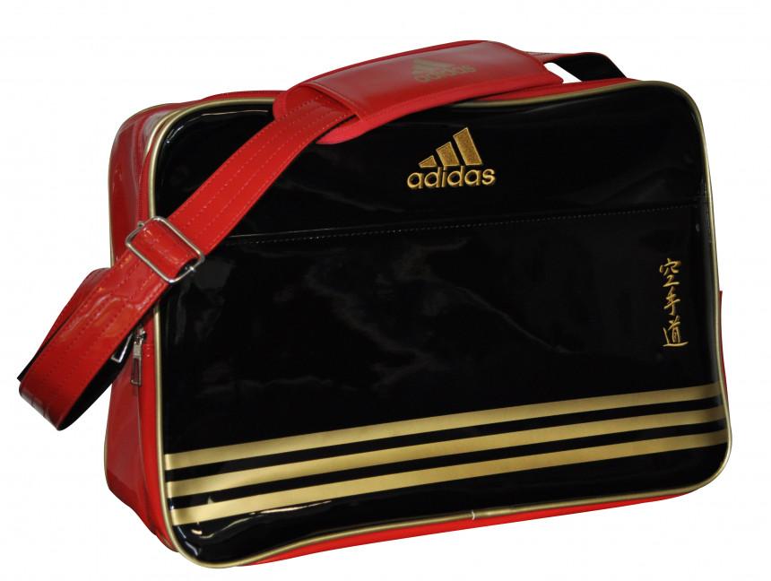 6a96b39a887 Adidas Retro Karate Sporttas - 46 x 32 x 19 cm - Zwart / Rood kopen ...