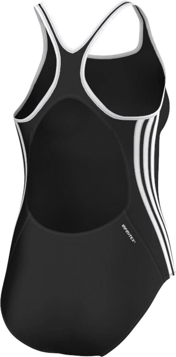 Wit Badpak Kopen.Adidas 3 Stripes One Piece Badpak Zwart Wit Kopen Justathlete Nl