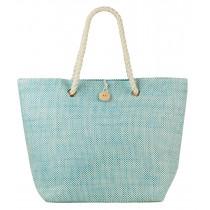 Beco Beach Bag - Blue / White