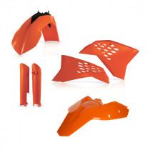 Acerbis KTM EXC/EXC-F 2008-2011 - Full Plastic Kit - Oranje