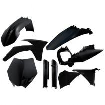 Acerbis KTM SX 125/144/150 / SX 250 2011 - Full Plastic Kit - Zwart