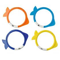 Beco Fish Diving Rings - Multicolor - 4 pcs