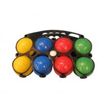 Jeu de Boules Set 8 ballen plastic