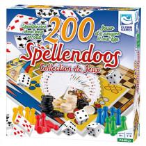 Clown Spellendoos 200 delig NL/FR