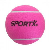 Sportx Jumbo Tennisbal L - Roze