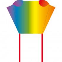 HQ Pocketsled Eenlijnsvlieger - Regenboog