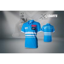 XQ Max Dart Shirt VvdV - Blauw