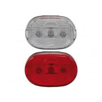 Ikzi Verlichtingsset - Voor / Achter - LED - Wit / Rood