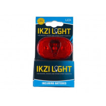 Ikzi Bike Rear Light - 3 LED - Red