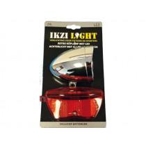 Ikzi verlichtingsset 1 led koplamp + 3led reflector a