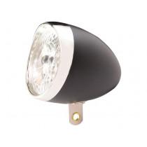 Ikzi Fiets Voorlicht - 3 LED - Zwart