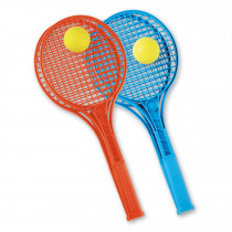 Androni Tennisracket Junior Kleur met Bal