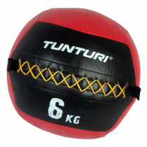 Tunturi Wall Ball 6 kg - Rood
