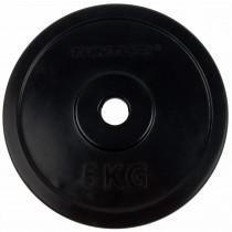 Tunturi Halterschijf 5.0 kg - Rubber