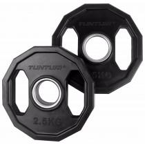 Tunturi Olmpische Halterschijven 2.5 kg - Zwart -Paar