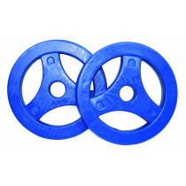 Tunturi Aerobic Schijven 2.5kg - Rubber - Paar