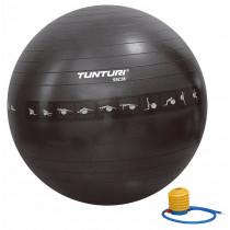 Tunturi Gymball 55 cm Anti Burst - Zwart