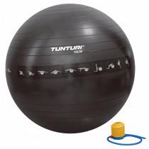 Tunturi Gymball 75 cm Anti Burst - Zwart
