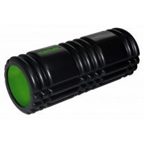 Tunturi Yoga Grid Foam Roller 33 cm - Zwart