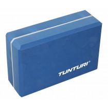 Tunturi Yoga Blok - Blauw/Wit