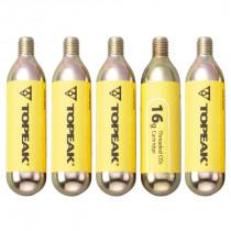 Topeak CO2 Cartridge 16g Schroefdraad