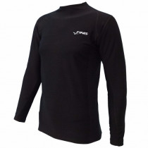 Finis Thermal Swim Shirt Unisex - Black