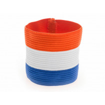 Agility Sports Aanvoerdersband Nederland - Rood / Wit / Blauw