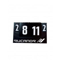 Rucanor Score Tafel Opvouwbaar - Zwart