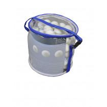 Rucanor Single Circle case Tafeltennisballetjes 40 mm 100 pcs - Wit