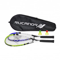 Rucanor Speed Badminton set - Blauw/Groen