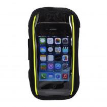 Rucanor Iphone 5 Houder - Zwart/Neon Geel
