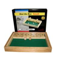 Longfield Shut The Box Bordspel Klein 28 X 20 X 4,5 cm