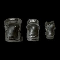 Roces Ventilated 3-Pack Beschermers Unisex - Zwart