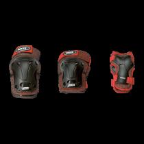 Roces JR Ventilated 3-Pack Beschermers Jongens - Rood / Zwart