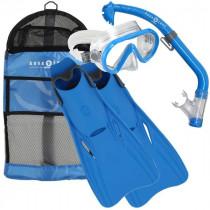 Aqua Lung Sport Snorkelset Santa Cruz Kinderen - Blauw