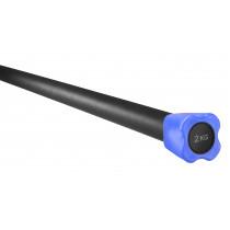 Trendy Sport Aerobic Stang - Licht Blauw - 2 kg