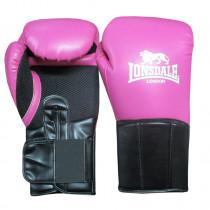 Lonsdale Performer bokshandschoen Dames - Roze/Zwart - 12 oz