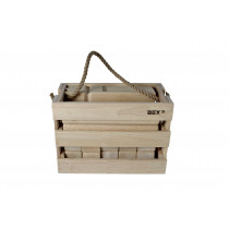 Bex Kubb Viking Original Rubberhout in houten kist
