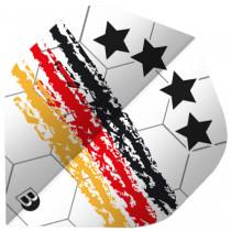 BULL'S Motex Flights Slim Shape - Germany Soccer