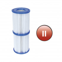 Bestway Type II Filter Pomp cartridge - 2,0 en 3,0 m³/u