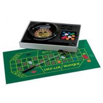 Complete Roulette Set Luxe met Fiches, Kleed en Hark - 30 cm