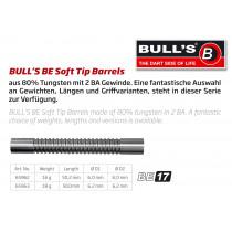 Bull's BE-17 Soft Tips Darts Barrels - 80% Wolfraam