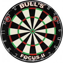 Bull's Focus II Bristle Dartbord - 45,5 cm
