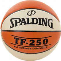 Spalding TF250 In&out Basketball maat 6 - Oranje