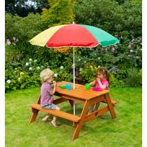 Plum Vierkante Kinder Picknick Tafel