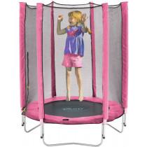 Plum Junior trampoline en behuizing-Roze 1,3m
