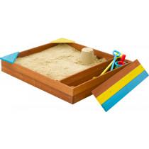 Plum store-it houten zandbak